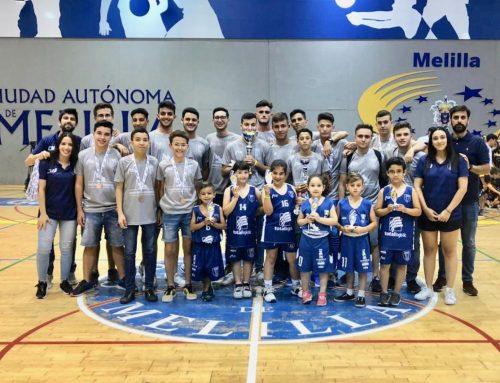 El Club Melilla Baloncesto da por finalizada la temporada deportiva