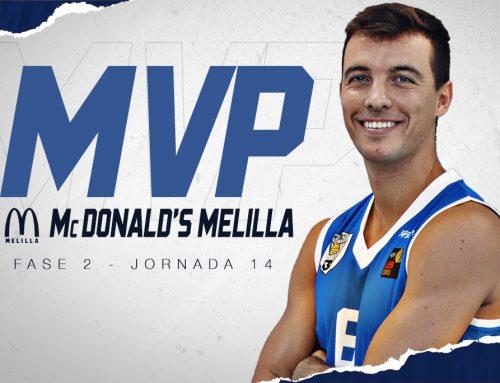 Javi Marín logra su primer MVP McDonald's Melilla