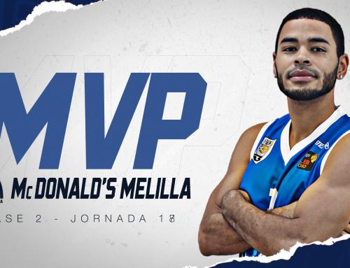 Alec Wintering se lleva el último MVP McDonald's Melilla de la temporada