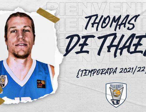Thomas de Thaey se une al proyecto Melilla Sport Capital 2021/22
