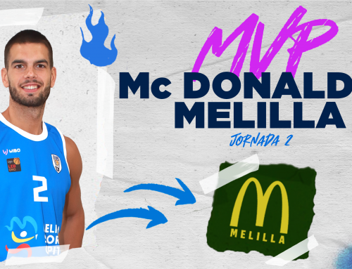Alex Llorca se lleva el MVP McDonald's Melilla del choque ante Movistar Estudiantes