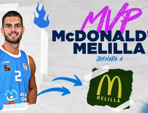Alex Llorca ya tiene su segundo MVP McDonald's Melilla del curso