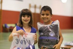 Lucia y Aaron Habilidad y Tiro Babybasket